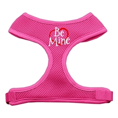 Mirage Pet Products Be Mine Soft Mesh Harnesses Pink Extra Large