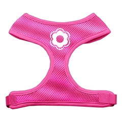 Mirage Pet Products Daisy Design Soft Mesh Harnesses Pink Extra Large