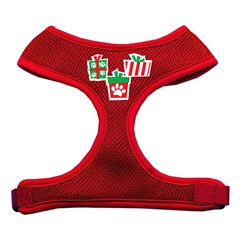 Mirage Pet Products Presents Screen Print Soft Mesh Harness  Red Small