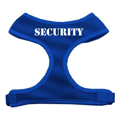 Mirage Pet Products Security Design Soft Mesh Harnesses Blue Small