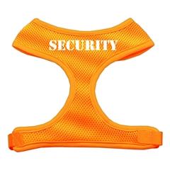 Mirage Pet Products Security Design Soft Mesh Harnesses Orange Large