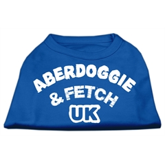 Mirage Pet Products Aberdoggie UK Screenprint Shirts Blue XXXL (20)