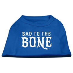 Mirage Pet Products Bad to the Bone Dog Shirt Blue XL (16)