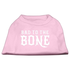 Mirage Pet Products Bad to the Bone Dog Shirt Light Pink XS (8)