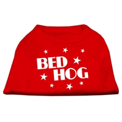 Mirage Pet Products Bed Hog Screen Printed Shirt  Red XXXL (20)
