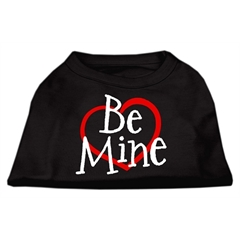 Mirage Pet Products Be Mine Screen Print Shirt Black  XXXL (20)