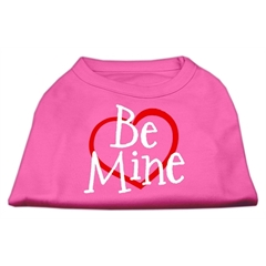 Mirage Pet Products Be Mine Screen Print Shirt Bright Pink Sm (10)
