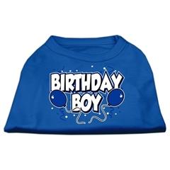 Mirage Pet Products Birthday Boy Screen Print Shirts Blue XL (16)