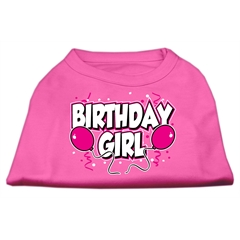 Mirage Pet Products Birthday Girl Screen Print Shirts Bright Pink Med (12)