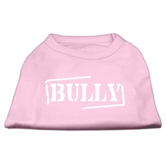 Mirage Pet Products Bully Screen Printed Shirt  Light Pink Lg (14)