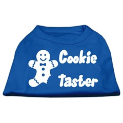 Mirage Pet Products Cookie Taster Screen Print Shirts Blue XS (8)