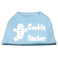 Mirage Pet Products Cookie Taster Screen Print Shirts Baby Blue XXL (18)