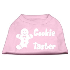 Mirage Pet Products Cookie Taster Screen Print Shirts Light Pink XS (8)