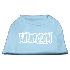 Mirage Pet Products Ehrmagerd Screen Print Shirt Baby Blue XXL (18)