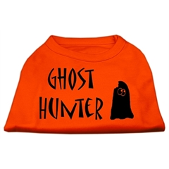 Mirage Pet Products Ghost Hunter Screen Print Shirt Orange XXL (18)