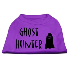 Mirage Pet Products Ghost Hunter Screen Print Shirt Purple with Black Lettering XXXL (20)