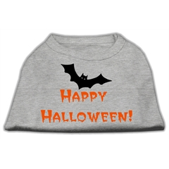 Mirage Pet Products Happy Halloween Screen Print Shirts Grey S (10)