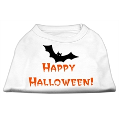 Mirage Pet Products Happy Halloween Screen Print Shirts White M (12)