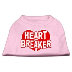 Mirage Pet Products Heart Breaker Screen Print Shirt Light Pink  Sm (10)