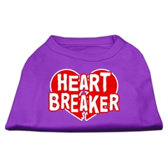 Mirage Pet Products Heart Breaker Screen Print Shirt Purple Sm (10)