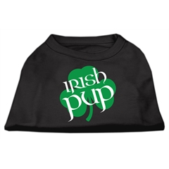 Mirage Pet Products Irish Pup Screen Print Shirt Black  Med (12)