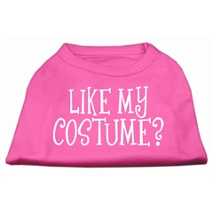 Mirage Pet Products Like my costume? Screen Print Shirt Bright Pink L (14)