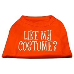 Mirage Pet Products Like my costume? Screen Print Shirt Orange XXXL (20)