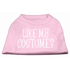 Mirage Pet Products Like my costume? Screen Print Shirt Light Pink XXXL(20)