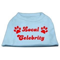 Mirage Pet Products Local Celebrity Screen Print Shirts Baby Blue Med (12)