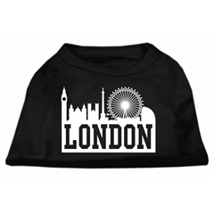 Mirage Pet Products London Skyline Screen Print Shirt Black Med (12)