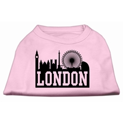 Mirage Pet Products London Skyline Screen Print Shirt Light Pink Sm (10)