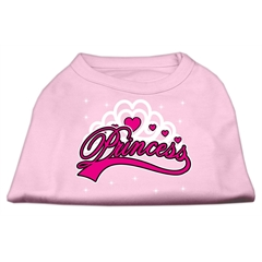 Mirage Pet Products I'm a Princess Screen Print Shirts Pink XXXL (20)