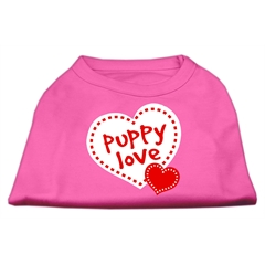 Mirage Pet Products Puppy Love Screen Print Shirt Bright Pink Sm (10)