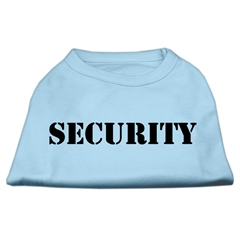 Mirage Pet Products Security Screen Print Shirts Baby Blue w/ black text XXL (18)