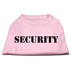 Mirage Pet Products Security Screen Print Shirts Light Pink w/ black text Med (12)
