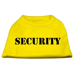 Mirage Pet Products Security Screen Print Shirts Yellow XL (16)