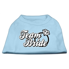 Mirage Pet Products Team Bride Screen Print Shirt Baby Blue Lg (14)
