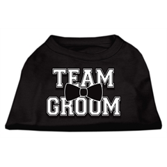 Mirage Pet Products Team Groom Screen Print Shirt Black Sm (10)