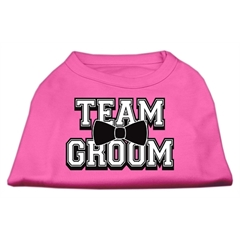 Mirage Pet Products Team Groom Screen Print Shirt Bright Pink XL (16)
