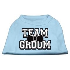 Mirage Pet Products Team Groom Screen Print Shirt Baby Blue XXL (18)