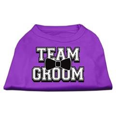 Mirage Pet Products Team Groom Screen Print Shirt Purple Lg (14)