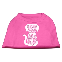 Mirage Pet Products Trapped Screen Print Shirt Bright Pink XS (8)