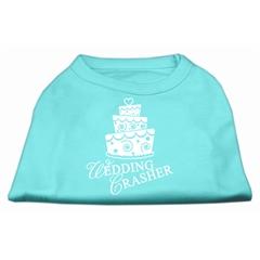 Mirage Pet Products Wedding Crasher Screen Print Shirt Aqua Med (12)
