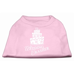 Mirage Pet Products Wedding Crasher Screen Print Shirt Light Pink  Lg (14)