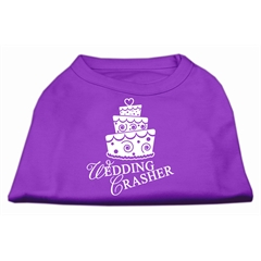 Mirage Pet Products Wedding Crasher Screen Print Shirt Purple XL (16)