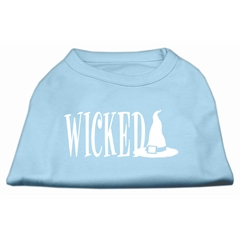 Mirage Pet Products Wicked Screen Print Shirt Baby Blue L (14)