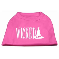Mirage Pet Products Wicked Screen Print Shirt Bright Pink S (10)