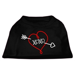 Mirage Pet Products XOXO Screen Print Shirt Black XL (16)