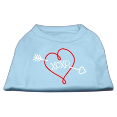 Mirage Pet Products XOXO Screen Print Shirt Baby Blue XL (16)