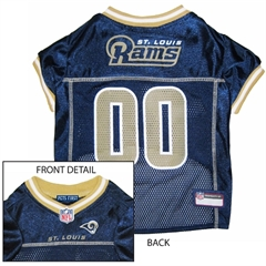 Mirage Pet Products St. Louis Rams Jersey XS